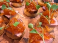 Canapes for wedding