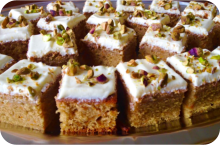 Carrot Cake - Buffet Event Catering Wiltshire, Dorset & Somerset