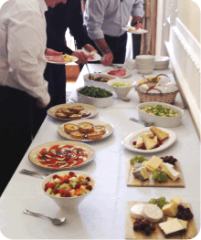 Buffet Caterer Dorset