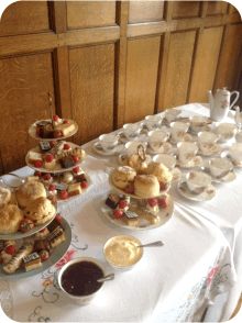 Afternoon tea - Event Catering Wiltshire, Dorset & Somerset
