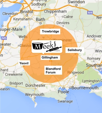 Coverage Map - Radius of Gillingham