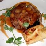 Confit Leg of Lamb, braised red cabbage, celeriac dauphinoise