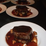 Braised feather blade of beef, potato rosti, wild mushrooms & red wine jus