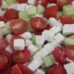 Tomato, Feta & Cucumber Salad