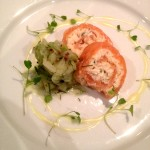 Salmon & Crab Roulade
