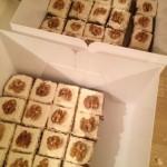 Chocolate, Coffee & Walnut Cake