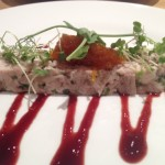 Pressed confit duck & free range chicken terrine with carrot and orange marmalade