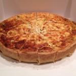 Cheese & Onion Quiche