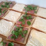 Roast Beef and Horseradish Mayonnaise Sandwiches