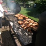 Food on the Barbecues