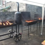 Barbecue at Kilver Court