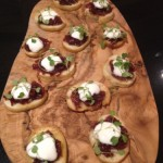 Goats Cheese and Red Onlion Marmalade