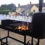 Barbecue at Stockbridge Farm Barn