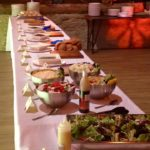 Barbecue Buffet Table