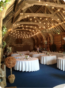 Wedding Stockbridge Farm Barn