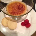 Vanilla & raspberry Creme brûlée