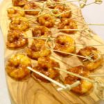 Sweet Chilli and Lime Praws Skewers