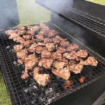 Lamb on the BBQ