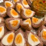 Scotch Eggs with Piccallili