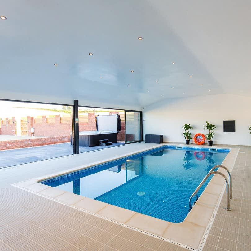 Pool at the Granary Barn, Nether Stowey, Somerset
