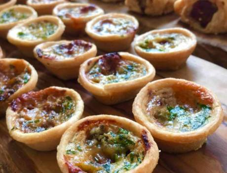 Tarts and Sausage Rolls
