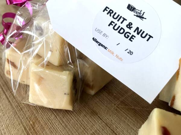 Homemade fudge